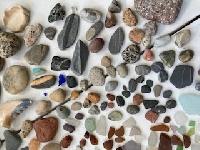 Beach Combing Treasures