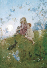 WIYM: Fairy themed postcard: INT'L