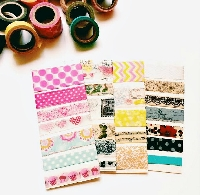 WASHI TAPES SAMPLES CRAZY SWAP