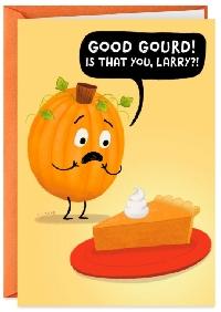 Pumpkin Themed Thanksgiving Card Swap - USA