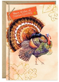 Thanksgiving Card with a Turkey Swap - USA