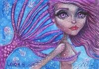Mermaid or Merman ATC Swap - USA