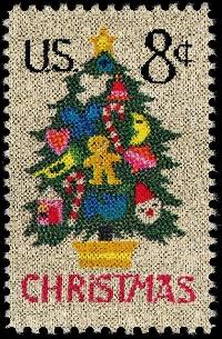 Christmas Postage Stamp Swap #1