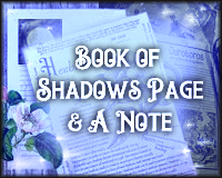 Book of Shadows Page + A Note