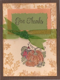 CF~Thanksgiving Card I Thess. 5: 16-18