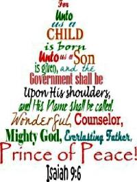 TCHH ~ Christian Christmas Card