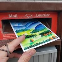 Handmade Postcard #2 - International