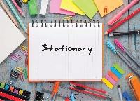 I love stationery: Topic Bucket List