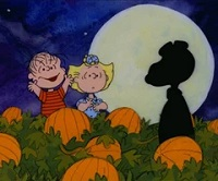 Its the Great Pumpkin Charlie Brown profile Deco