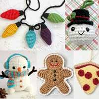 Let's Crochet/Knit Holiday Ornaments