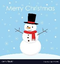 CHRISTMAS CARD SNOWMAN 2020