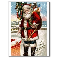 MissBrenda's Christmas Card Swap #12 ~ SANTA