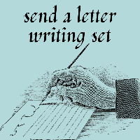 Send Two Letter Writing Sets