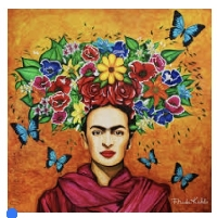 Frida Kahlo Quotes on Notecard or PC - Int'l