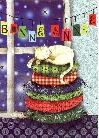 Cat drawn postcard #1