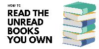 TBR:  Unread shelf project December