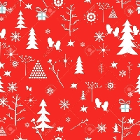 Christmas patterned paper exchange