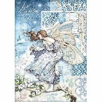 VC: Winter Wonderland Glue Book Page