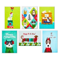 10 Partner Anything Goes Christmas Card Swap USA