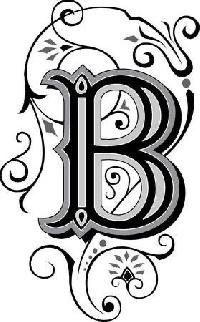 Walk Thru the Alphabet - B