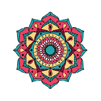[YA] Monthly mandala #4 - January