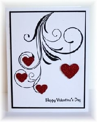 MissBrenda's Valentine Card swap #9
