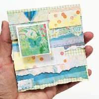 USAPC: Index Card Collage/Paper Strips