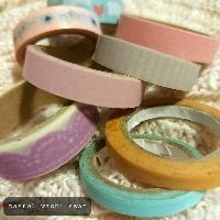 THEMED washi swap - pastel