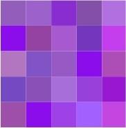 COLOR Me Happy ATC #1 (Purple)