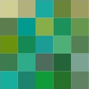 COLOR Me Happy ATC #2 (Green)