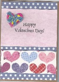 CF ~ Valentine's Day Card & Scripture