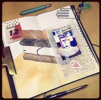 DIY Travelers Notebook Insert