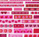❤️Quick Valentine Washi Sample Swap❤️