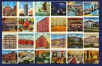 Five Postcards For My Partner - USA