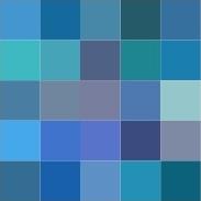 COLOR Me Happy ATC #5 (Blue)