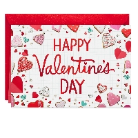 3 Partner Valentine's Day Card Swap - USA
