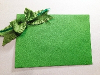 St. Patrick's Day Card & Green Themed Mail Art USA