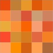 COLOR Me Happy ATC #6 (Orange)