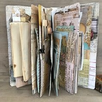 FTLOC#1-Junk Journal Pages 2=8- - US Only