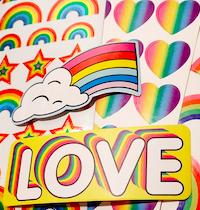🌈 Themed Sticker Swap #7: Rainbows 🌈