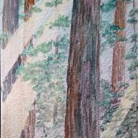 AMA:US handcrafted postcard - TREE