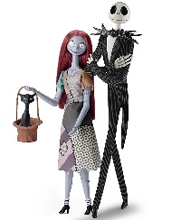 The Nightmare Before Christmas #3 - Sally and Jack