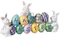 Easter Bunny/Easter Egg Kitchen Towel - USA