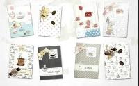 Tea : handmade card + tea bag