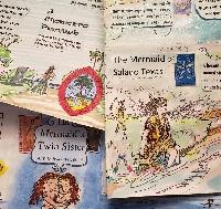 Mermaid story Zine international