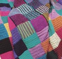 Let's build a blanket together #19 pastel/easter