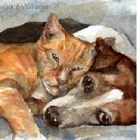 USATC: Dog or Cat Themed ATC
