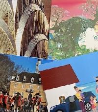 Found Image Postcard - USA