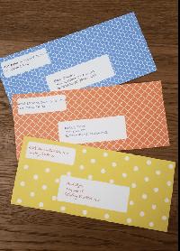 5 Things in an envelope
