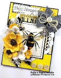 AACG:  Bee-youtiful Bee ATC